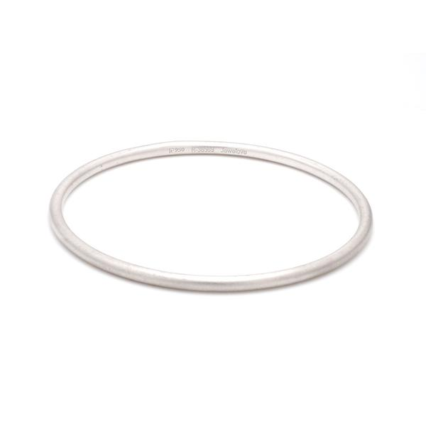 3mm Round Platinum Bangle JL PTB 645