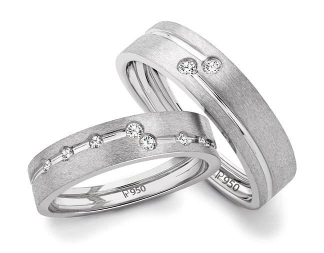 Chic Platinum Love Bands SJ PTO 110 in India