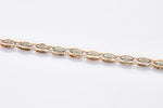 Load image into Gallery viewer, Designer Platinum & Rose Gold Bracelet for Men JL PTB 698