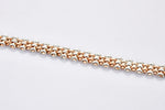 Load image into Gallery viewer, Broad Platinum & Rose Gold Bracelet for Men JL PTB 708