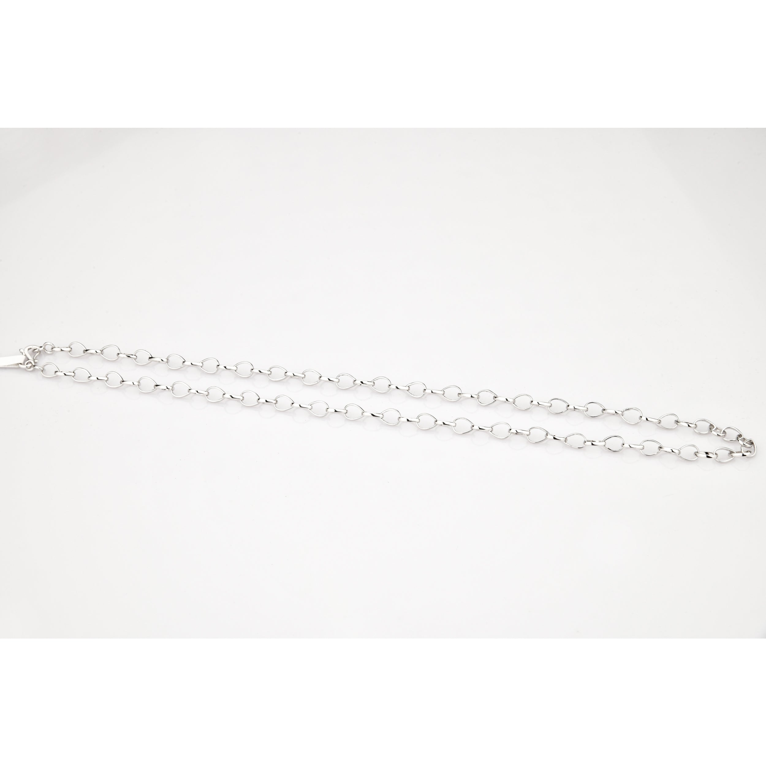 Designer Platinum Chain with Round Links JL PT 778