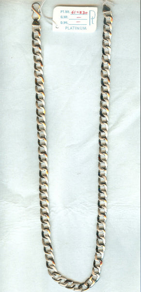 Heavy Platinum Chain for Men JL PT 725 in India