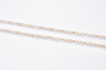 Load image into Gallery viewer, Platinum Rose Gold Linked Chain JL PT CH 900