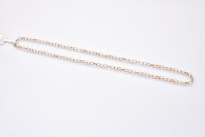 Platinum Rose Gold Linked Chain JL PT CH 900