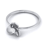 Load image into Gallery viewer, Platinum Ring for Women with Single Diamond JL PT LR 84