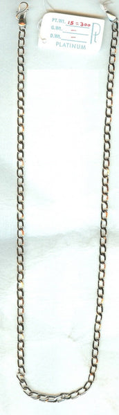 Lightweight Platinum Chain for Men JL PT 726 - Suranas Jewelove