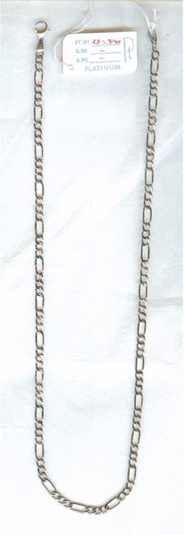 Linked Platinum Chain for Men JL PT 717 - Suranas Jewelove