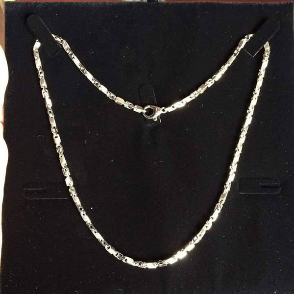 Heavy Unisex Platinum Chain JL PT 720 in India