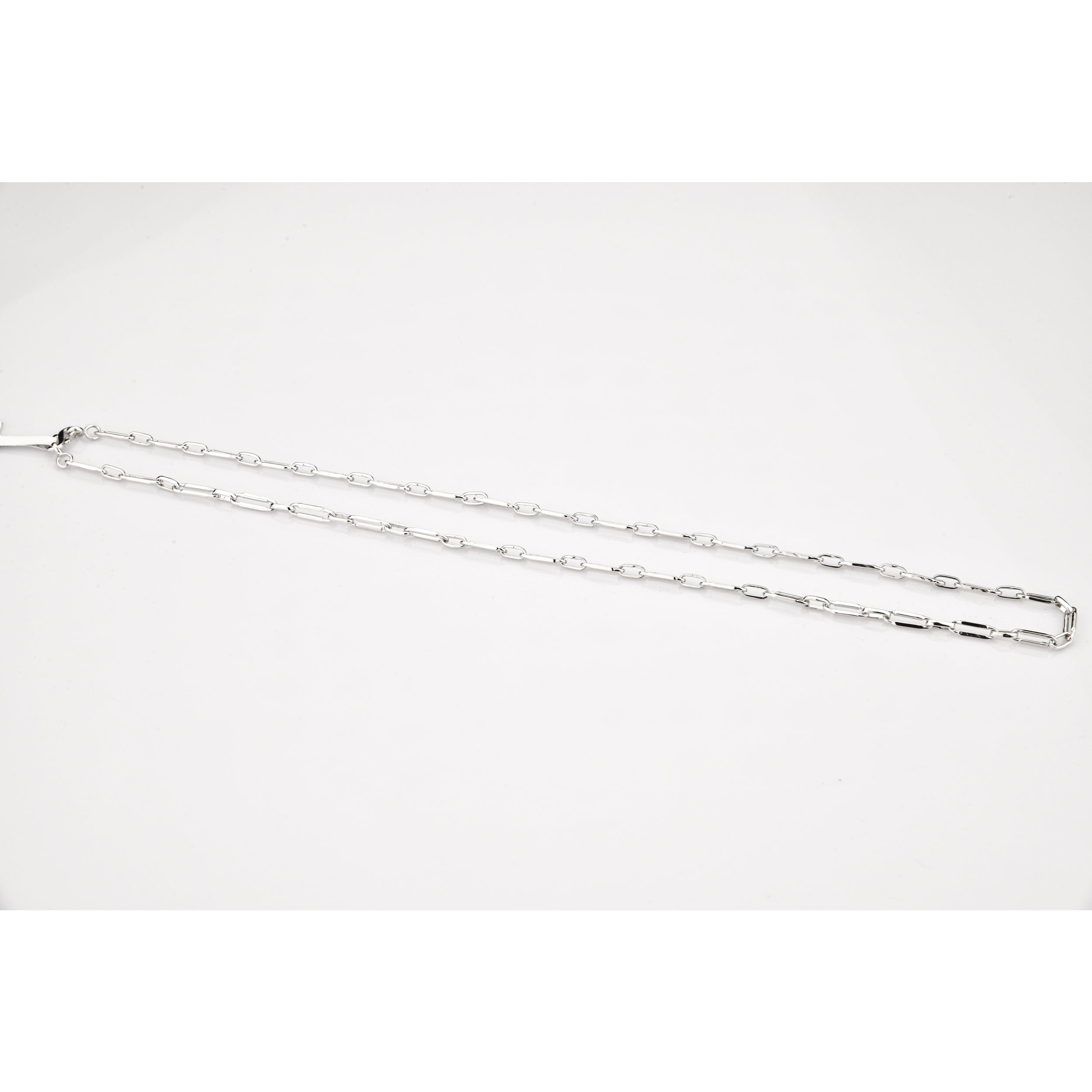 Platinum Chain with loops JL PT CH 802
