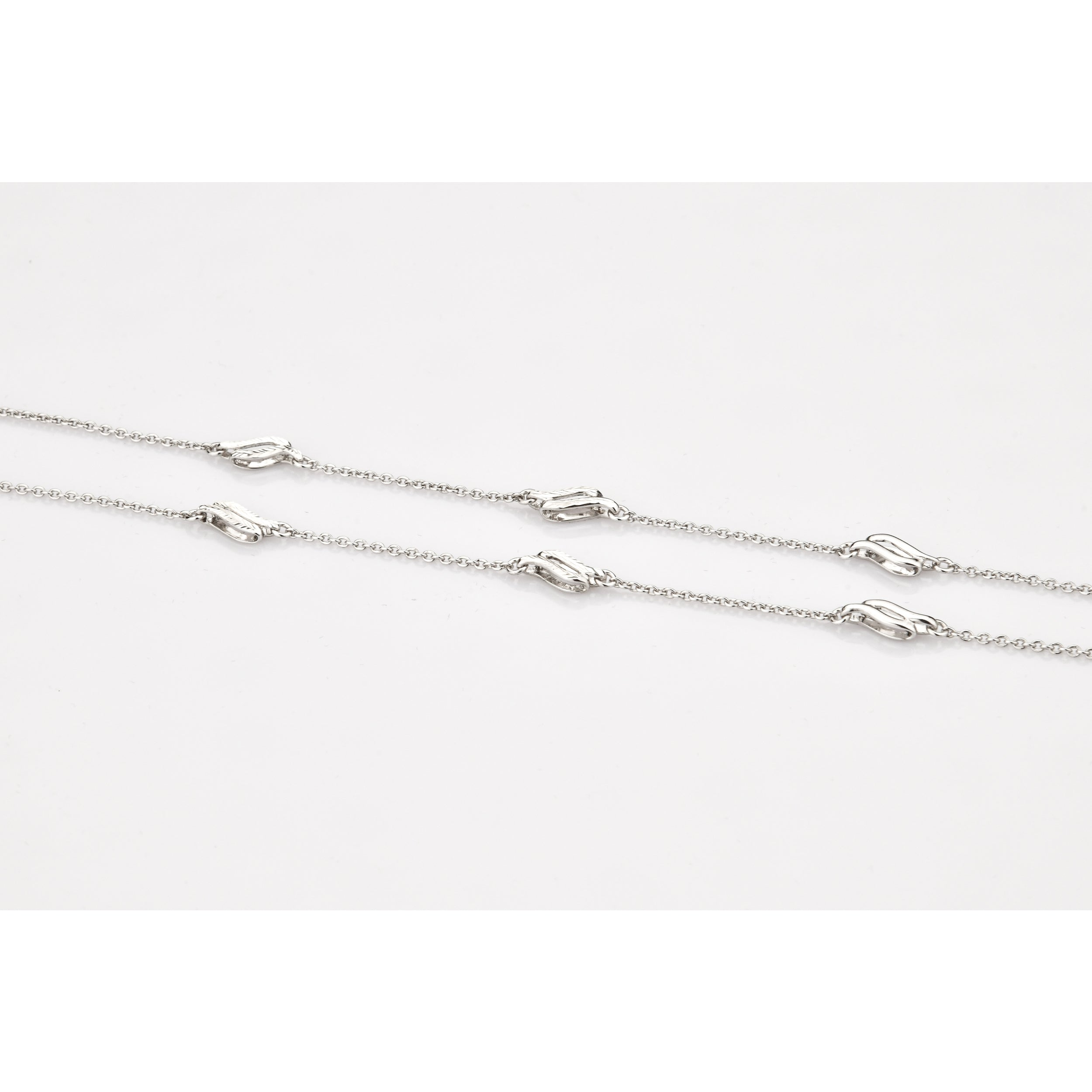 Designer Platinum Chain with Loops JL PT CH 803