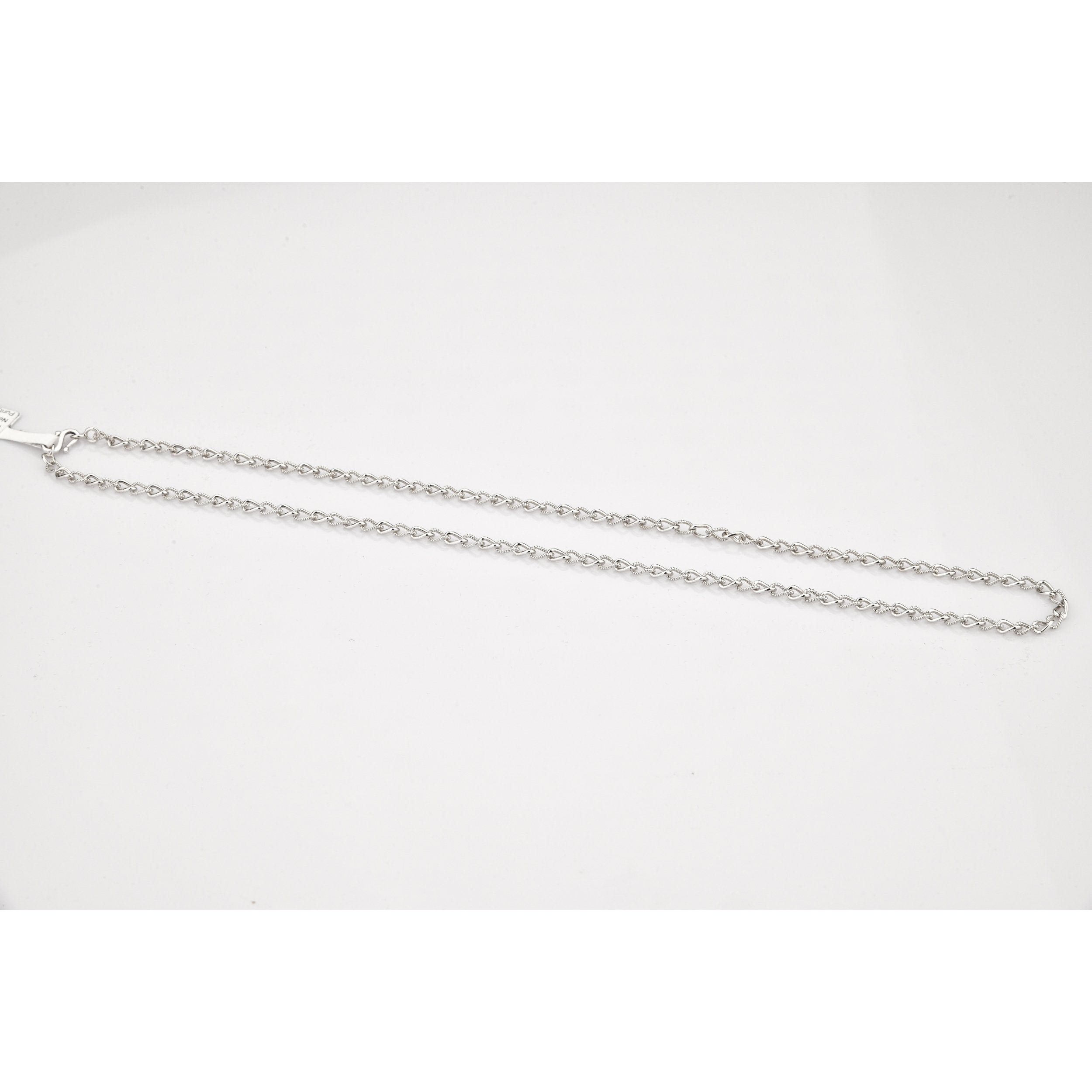 Designer Platinum Chain with Alternating Milgrain Links JL PT CH 830