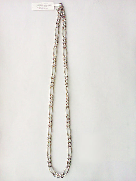 Circular Links Platinum Chain for Men JL PT 716 in India
