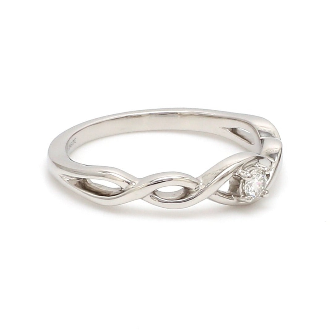 Classic Yet So Different Platinum Couple Rings JL PT 909