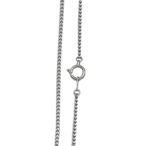 Japanese Unisex Platinum Chain for Men and Women Franco JL PT 731