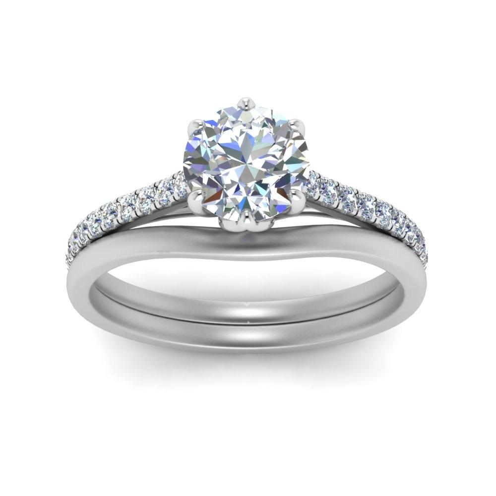 Customised 90 Pointer Platinum Solitaire Ring JL PT 962
