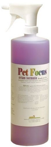 Pet Focus Aviary and Cage Cleaner (ready-to-use)