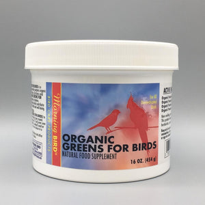 Organic Greens for Birds