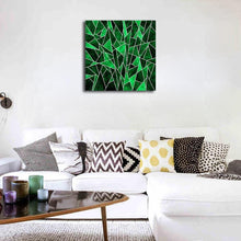 Load image into Gallery viewer, Green Abstract Print