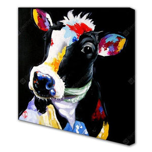 Colorful Cattle Modern