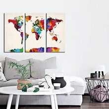 Load image into Gallery viewer, Colorful World Map