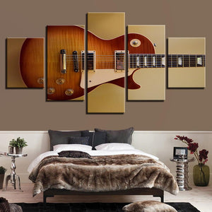 Rustic Guitar Decor