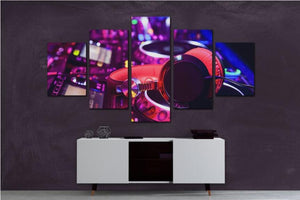 Framed 5 Pieces DJ-9 designs (20x35,45,55 only)