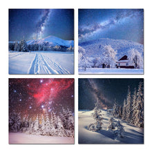 Load image into Gallery viewer, Winter Tress Starry Night Sky