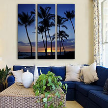 Load image into Gallery viewer, Palm Tree Night
