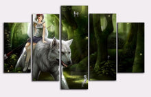 Load image into Gallery viewer, Riding White Wolf