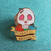 Chaotic Anxious Pin
