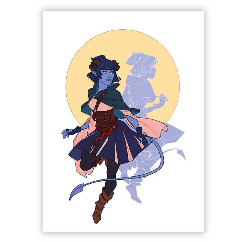 Mighty Nein - Jester (5x7