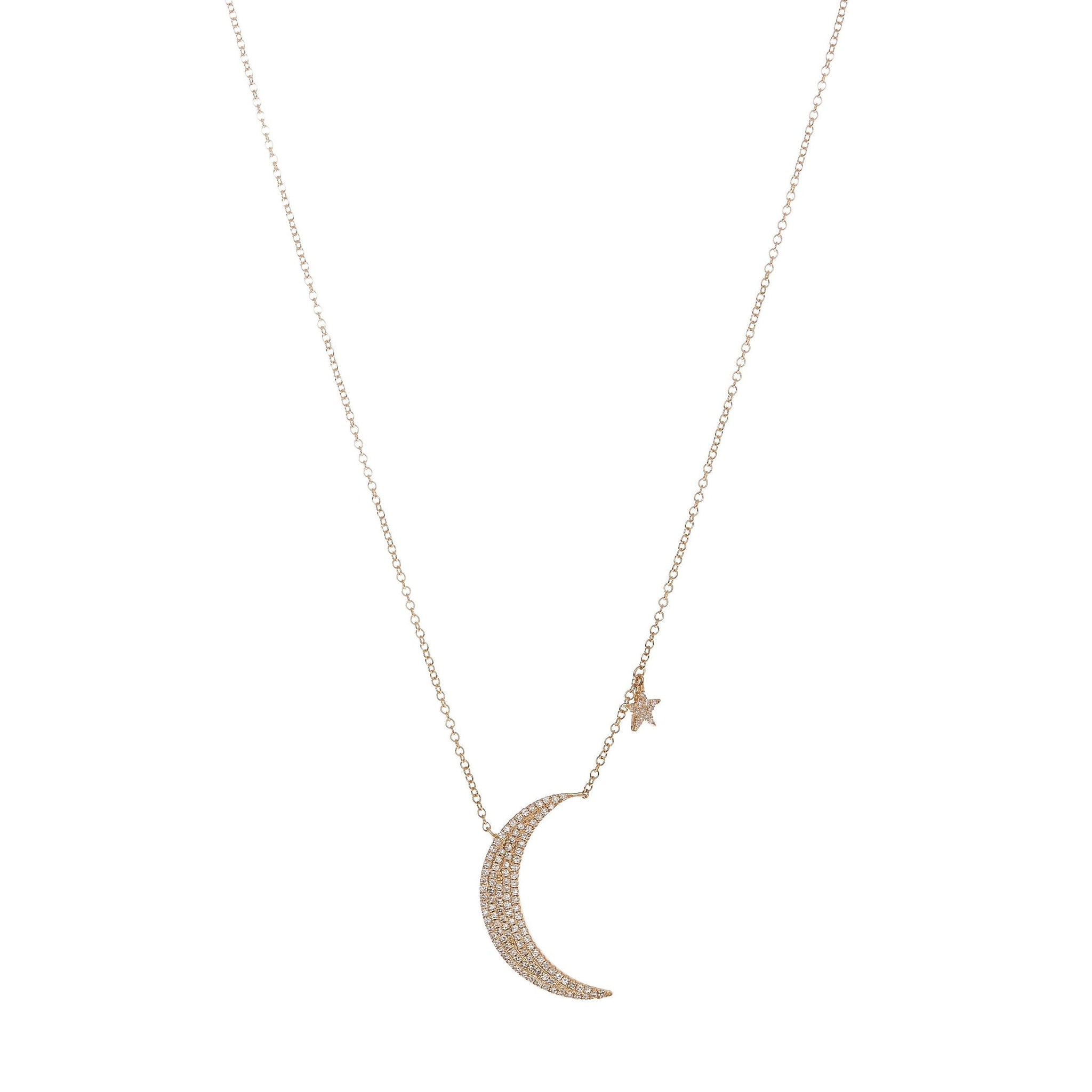 The Leslie Moon & Star Necklace