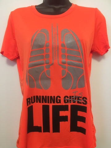 Running is Life - Orange