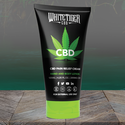 White Tiger CBD Hand & Body Lotion