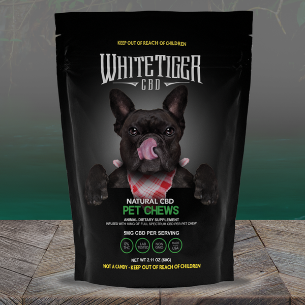 White Tiger CBD Pet Chews