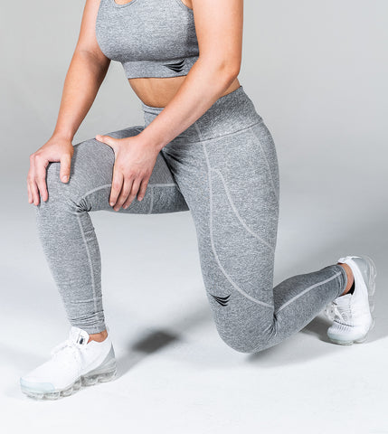 LIMITLESS LEGGINGS - GHOST GREY