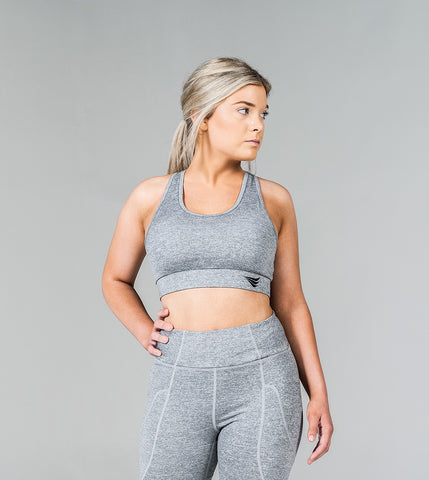 LIMITLESS BRA - GHOST GREY