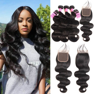 Body Wave Bundles w/ Closure