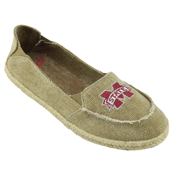 NCAA MISSISSIPPI STATE BULLDOGS Women's Cabo Slip-on