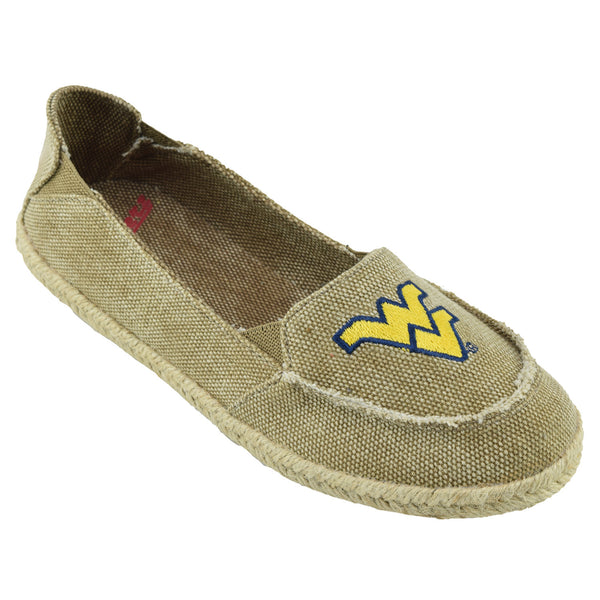 NCAA WEST VIRGINIA MOUNTAINEERS Women's Cabo Slip-on