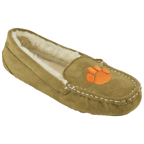 NCAA CLEMSON TIGERS Women's Chestnut Moc