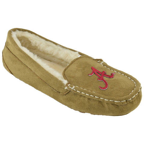 NCAA ALABAMA CRIMSON TIDE Women's Chestnut Moc