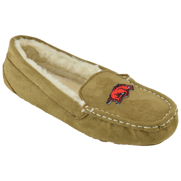 NCAA ARKANSAS RAZORBACKS Women's Chestnut Moc