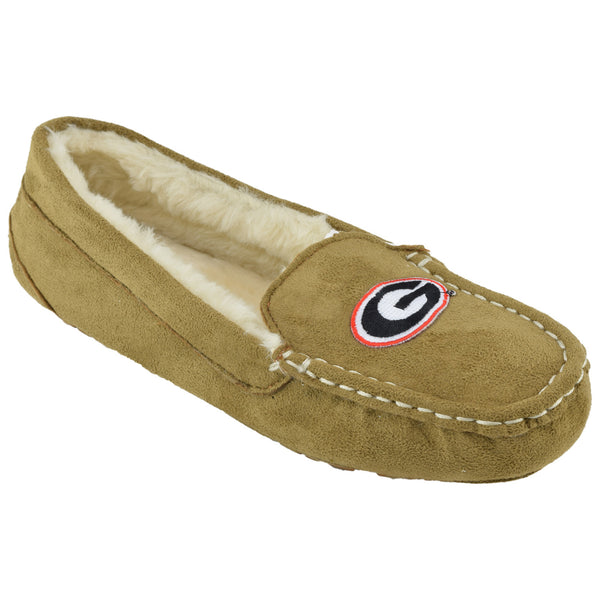 NCAA GEORGIA BULLDOGS Women's Chestnut Moc