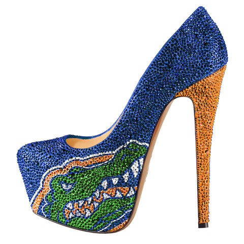 2014-15 Limited Edition University of Florida Gators Crystal Pumps