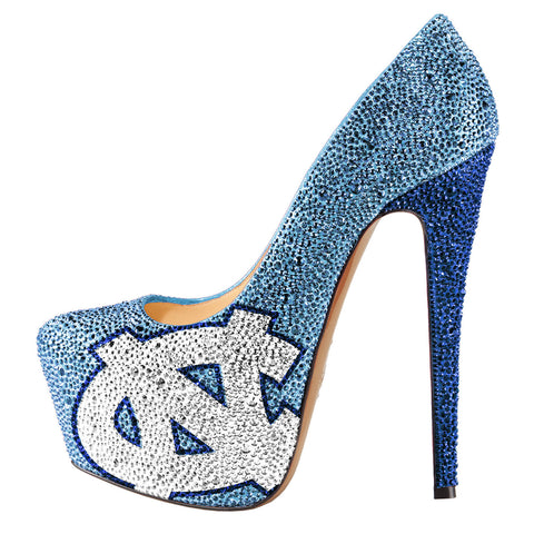 2014-15 Limited Edition North Carolina Tarheels Crystal Pumps