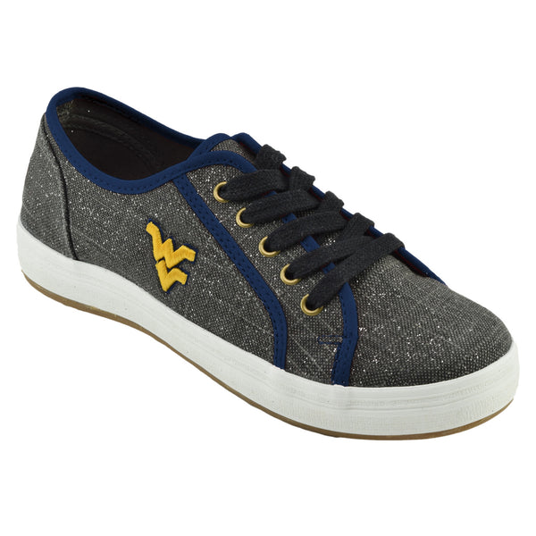 NCAA WEST VIRGINIA MOUNTAINEERS Women's St. Croix lace ups