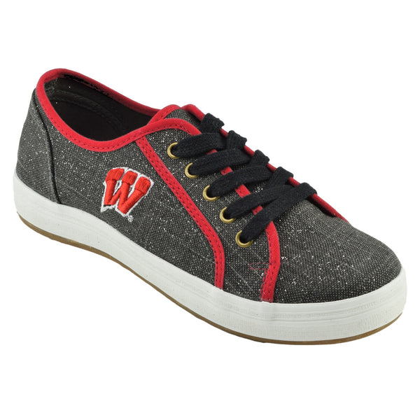 NCAA WISCONSIN BADGERS Women's St. Croix lace ups