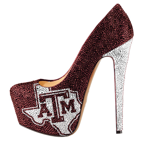 2014-15 Limited Edition Texas A&M Crystal Pumps