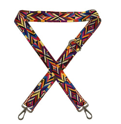 Aztec Multicolour Bag Strap